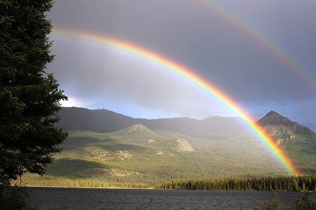 虹が二重(ダブルレインボー)の夢