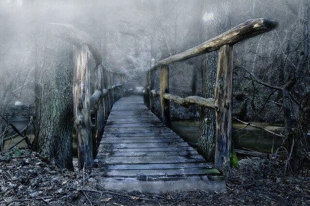 橋が壊れる(崩れる)夢