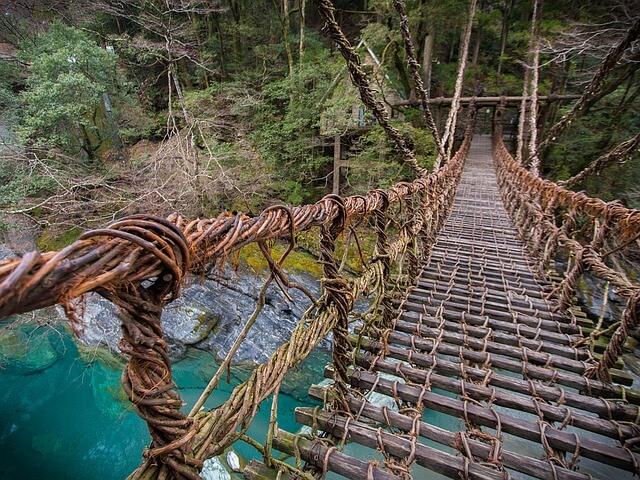 吊り橋の夢占い