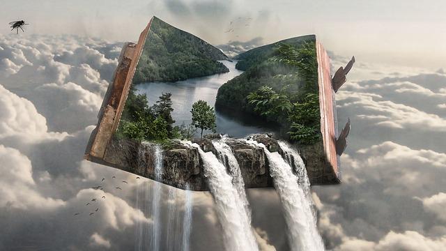 滝に飛び込む夢
