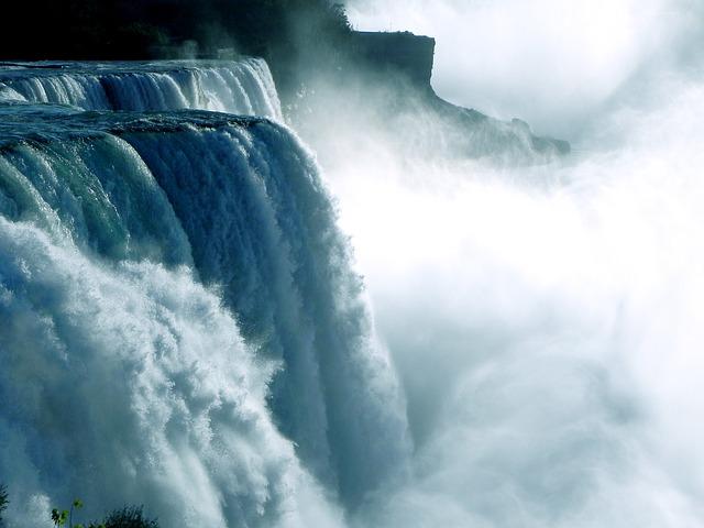 滝を見る(見ている)夢