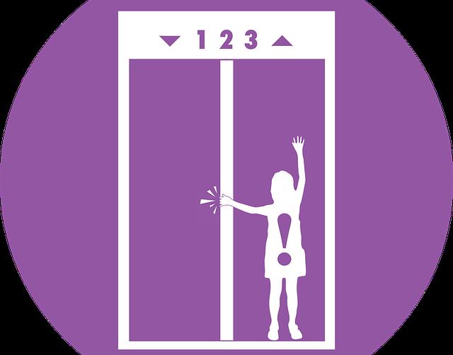 エレベーターに挟まる夢占い