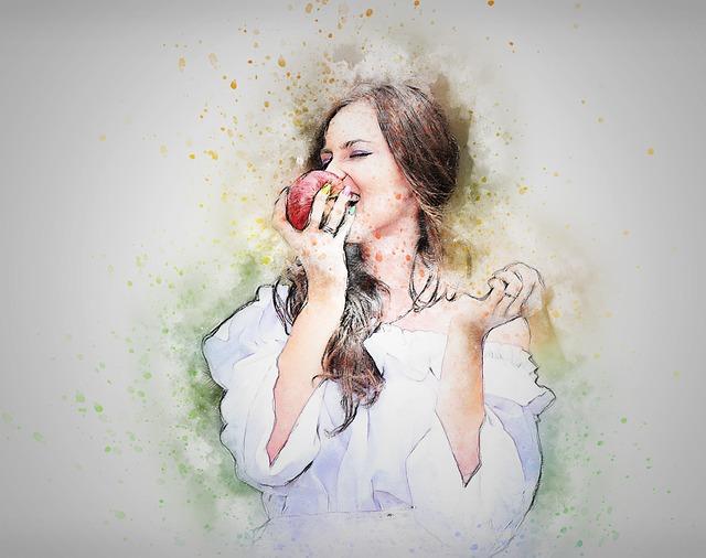りんごを食べる夢