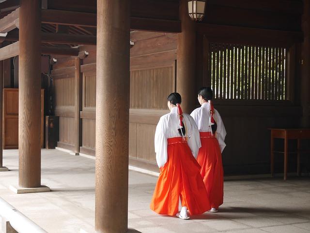神社の神主・宮司・巫女と話す夢占い