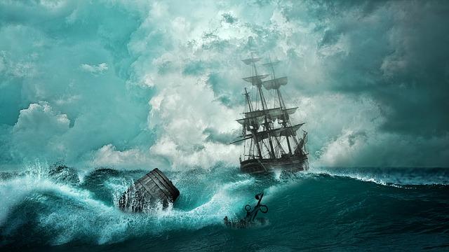 船が沈む(浸水して沈む)夢占い