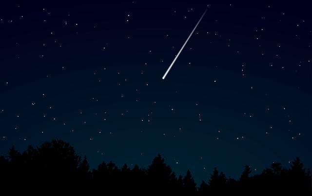 流れ星が落ちてくる夢占い