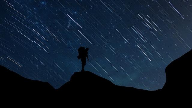 流星群のようなたくさんの流れ星を見る夢占い