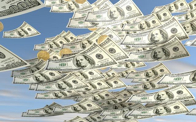 お金が増える(お金が目の前で増殖するようなイメージ)夢占い