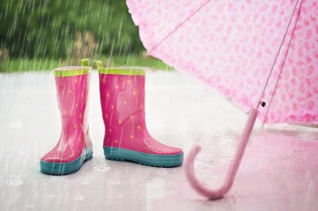 遊園地で遊んでいると雨が降ってくる夢占い